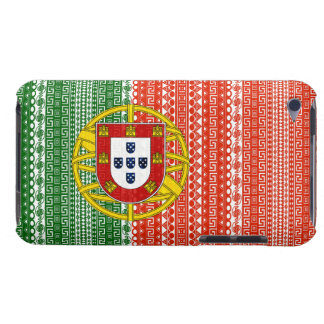 Cool  Portugal Aztec flag colourful pattern Barely There iPod Case