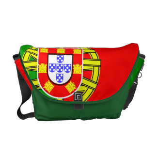Cool Portugal Flag colourful Country Nationality Messenger Bag