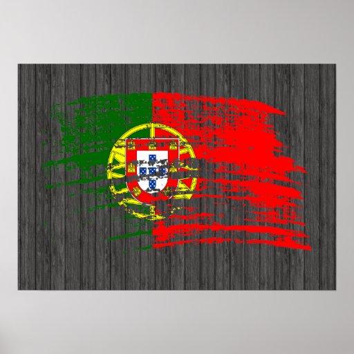 Cool Portuguese flag design Poster