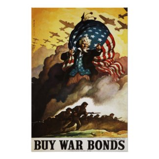 Cool Poster with WWII Motive