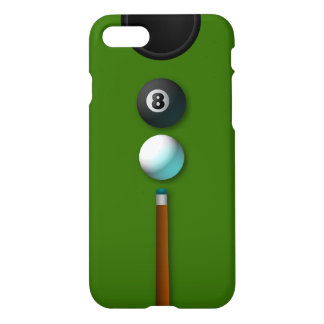 Cool Pot The 8 or Eight Ball Pool Billiards Zazzle iPhone 8/7 Case