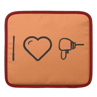 Cool Powerful Drillls iPad Sleeve