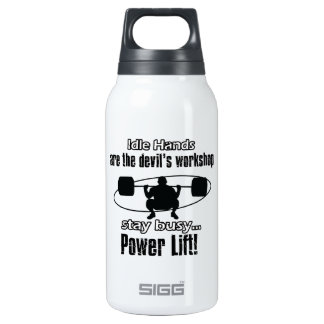 cool powerlift design thermos bottle