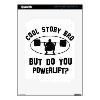 cool powerlift designs skin for iPad 3