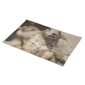 Cool Prairie Dog Placemat Cloth Place Mat