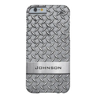 Cool Premium Diamond Cut Metallic Plate Pattern Barely There iPhone 6 Case