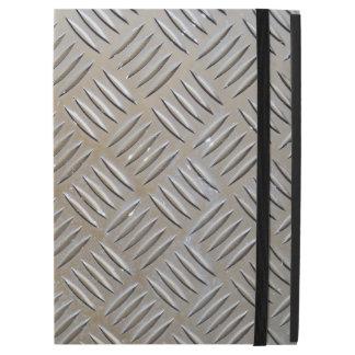 "Cool Premium Diamond Cut Metallic Plate Pattern iPad Pro 12.9"" Case"