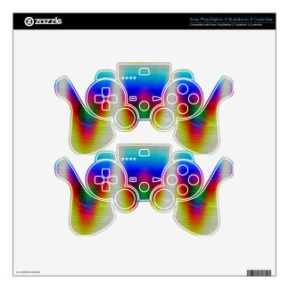 Cool Prism Skin For PS3 Controller