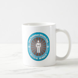Cool Probation Officers Club Coffee Mug