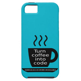 Cool Programmer Geek Coffee Addiction iPhone 5 Covers