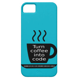 Cool Programmer Geek Coffee Addiction iPhone 5 Case