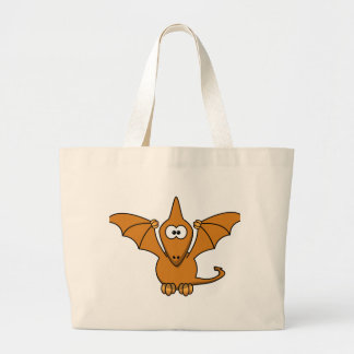 cool pterodactyl large tote bag