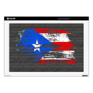 Cool Puerto Rican flag design Laptop Skins