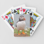 Cool Puffin Bicycle Playing Cards