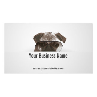 Cool Pug Consulting Detective Business Card