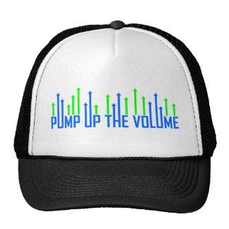 Cool Pump up the volume design Trucker Hat