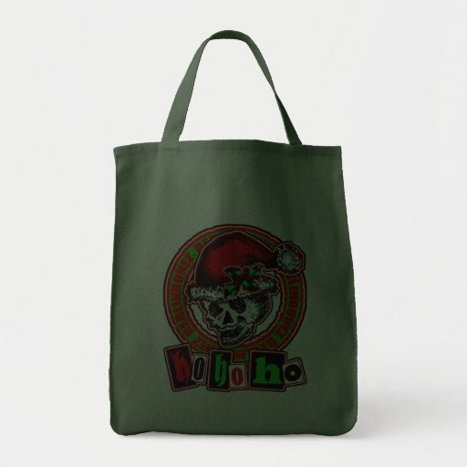 Cool punky christmas fun with berlinbonez canvas bags