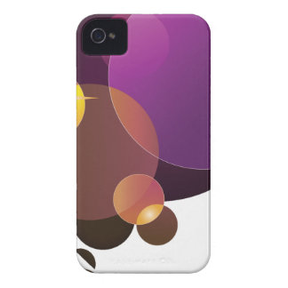 Cool purple abstract circles blackberry bold case