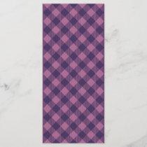 Cool Purple Check Gingham Pattern