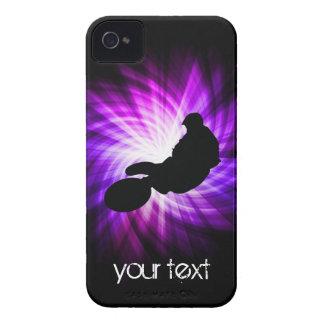 Cool Purple Dirt Bike iPhone 4 Case