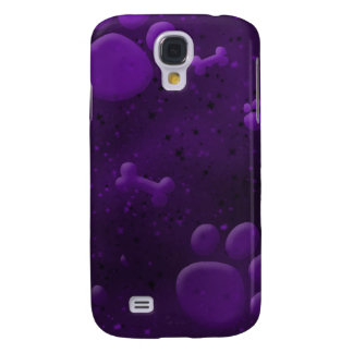 Cool Purple Dog Lover iPhone 3 Case