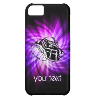 Cool Purple Football iPhone 5C Covers