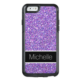 Cool Purple Glitter OtterBox iPhone 6 Case