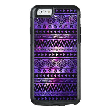 Aztec Themed Cool Purple Nebula Aztec OtterBox iPhone 6 Case