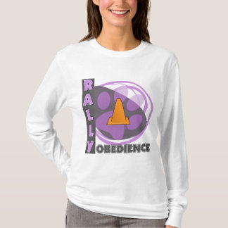 Cool Purple Rally Obedience T-Shirt