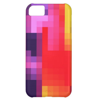 Cool Purple Red Pink Mosaic Abstract Pattern iPhone 5C Covers