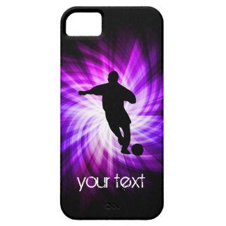 Cool Purple Soccer iPhone 5 Case