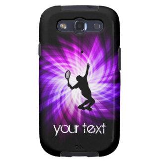 Cool Purple Tennis Galaxy S3 Case