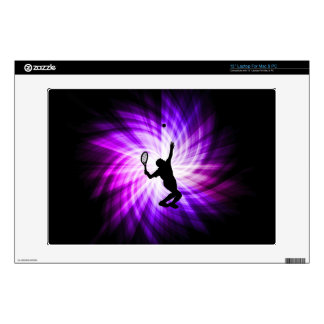 """Cool Purple Tennis Decal For 13"""" Laptop"""