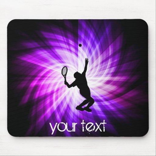Cool Purple Tennis Mouse Pad