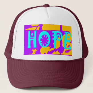 Cool Purple USA Hillary Hope We Are Stronger Toget Trucker Hat