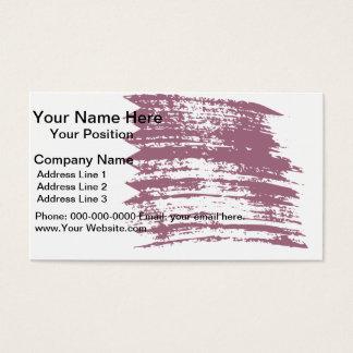 Cool Qatari flag design Business Card