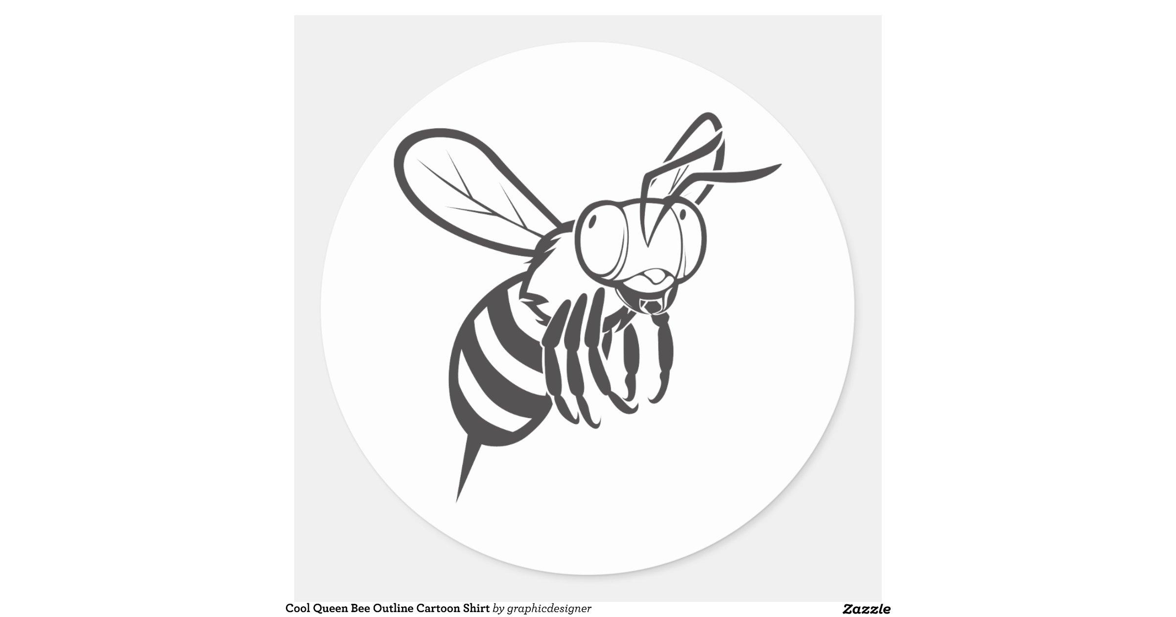 Queen Bee Outline