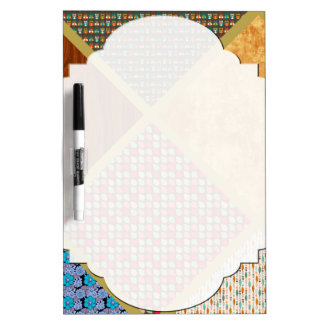 Cool Quilty Pattern Dry-Erase Board