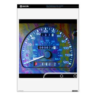 Cool Race Car Speedometer Playstation 3 Skin Skin For PS3 Slim