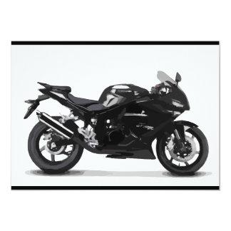 COOL RACING SPORTS BLACK MOTORCYCLE 297090 motorbi Card