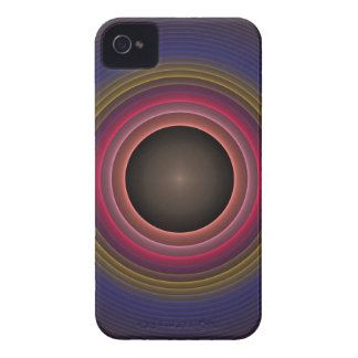 Cool radial abstract iPhone 4 case-mate case