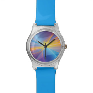 cool rainbow abstract watch