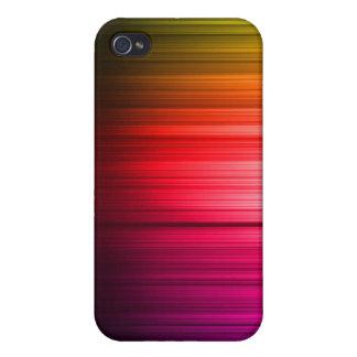 Cool Rainbow Art Spectrum Case for iPhone 4