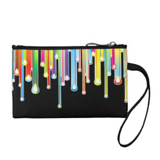Cool Rainbow Colors Icicles & Dripping Icing Coin Purse