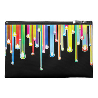 Cool Rainbow Colors Icicles & Dripping Icing Travel Accessory Bag