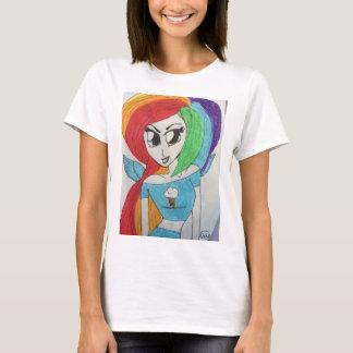 Cool Rainbow Girl T-Shirt