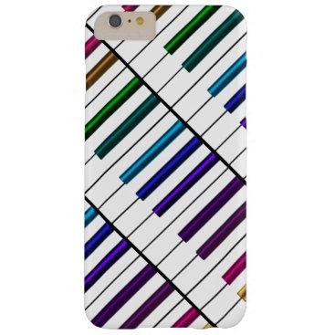 Cool Rainbow Keys Piano Music iPhone 6 Plus Case