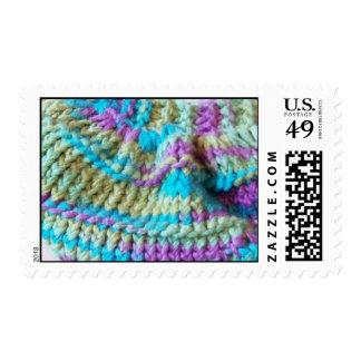 Cool Rainbow Knit - Stamp