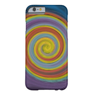 Cool Rainbow Twist Barely There iPhone 6 Case