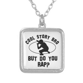 cool rap designs custom necklace
